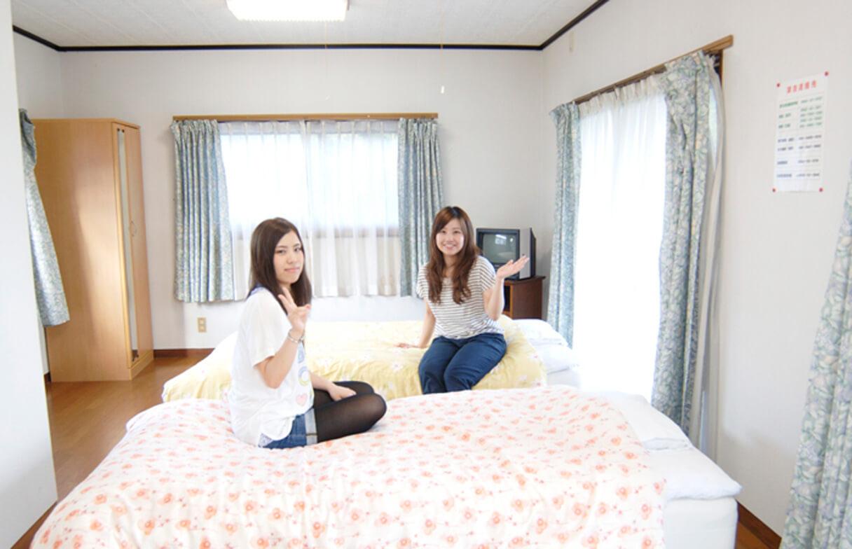 東九州自動車学校女子寮部屋